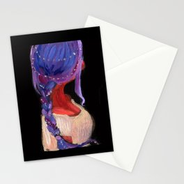 Purple Hair! Stationery Cards