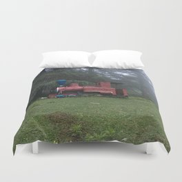 Old train Duvet Cover
