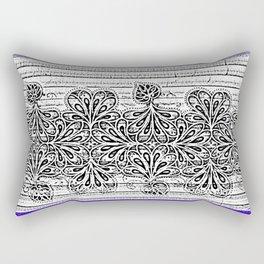Newspaper Stripe Rectangular Pillow