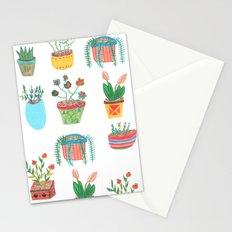 Plants. Stationery Cards