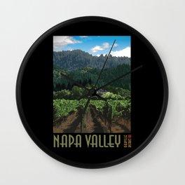 Napa Valley - Far Niente Winery - Oakville District Wall Clock