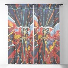 5809s-KMA_6109 Celebrate the Feminine Creation Power L'Origine du Monde Explicit Abstract Sex Art Sheer Curtain
