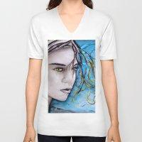 ale giorgini V-neck T-shirts featuring Ale by Alux Medina