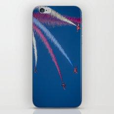 Red Arrows 1,2,3,  iPhone & iPod Skin