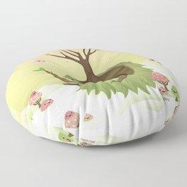 Mossiphants Floor Pillow