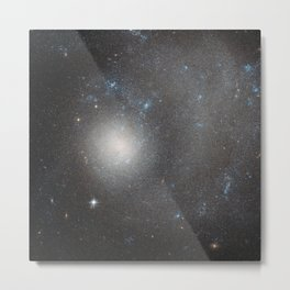 289. Hubble Sees a Dwarf Galaxy Shaped by a Grand Design Metal Print