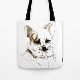 Chihuahua Watercolor Tote Bag