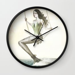 Out Of Water Wall Clock