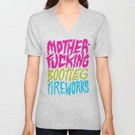 Bootleg Fireworks Unisex V-Neck