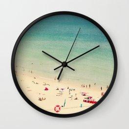 beach XIX Wall Clock