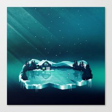 Frozen Magic Canvas Print