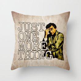 Columbo. Throw Pillow