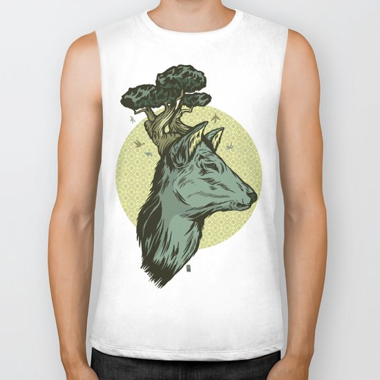 Spirit Of The Forest Biker Tank