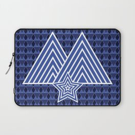 Winter Mountain Monark Pattern Laptop Sleeve
