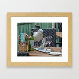 The intruder Framed Art Print