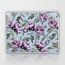 Summer Rose Garden Laptop & iPad Skin