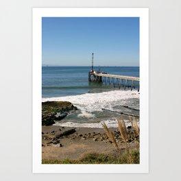 Carpinteria Pier Art Print