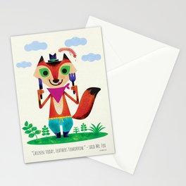 Mr Fox by Steve Mack Stationery Cards