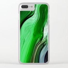Liquid Grass Clear iPhone Case