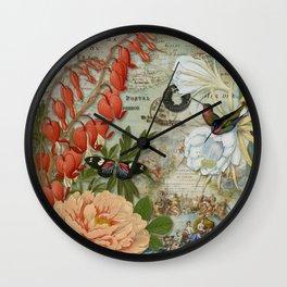 Enchanted Garden 1 Wall Clock