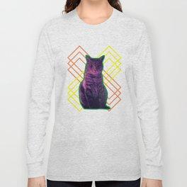 Momo the Cat Long Sleeve T-shirt