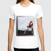 roller derby T-shirts featuring Roller Derby by Aquamarine Studio