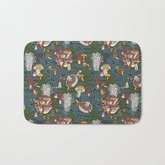 mushroom forest Bath Mat