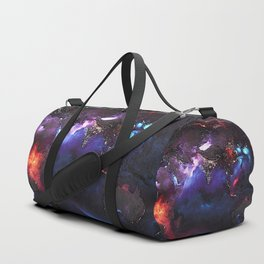 Beauty of Pollution / Aerosol Earth - Eastern Part Duffle Bag