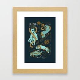 Hunger of the pine Framed Art Print