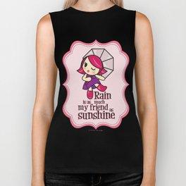 Rain & Sunshine Biker Tank