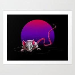 Neon Night 2 Art Print
