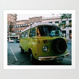 Rapid City Hippie Art Print