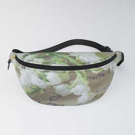 Love letter with lily of the valley Fanny Pack