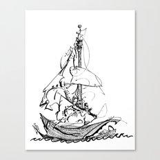 Melo the Explorer, Oct '15 Canvas Print