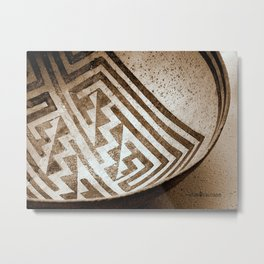 Ancient Vessel Metal Print
