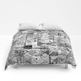 The Letter F Comforters