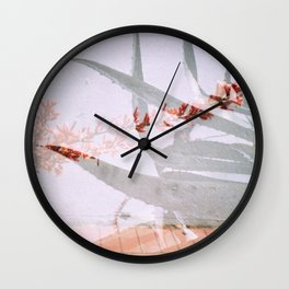 Succulent Double Wall Clock