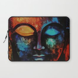 Lord Buddha Abstract Art Laptop Sleeve