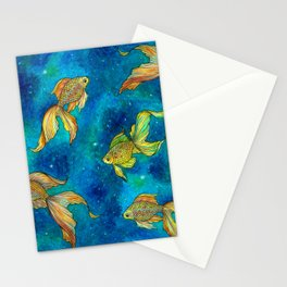 Cosmic Pisces Stationery Cards