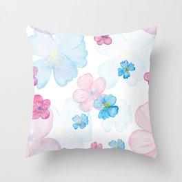 rose 52 7 Throw Pillow