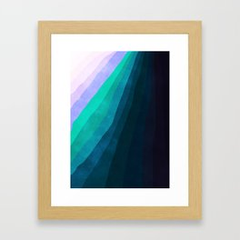 Stratum 4 Cold Framed Art Print