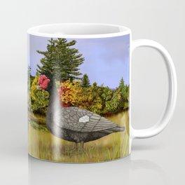 Blue Muscovy Ducks in Fall Coffee Mug