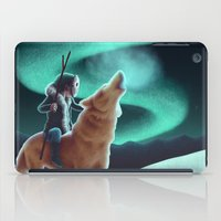 howl iPad Cases featuring Howl by slewisillustration