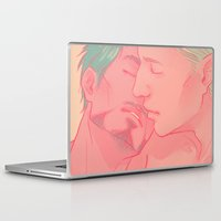 cuddle Laptop & iPad Skins featuring CUDDLE by FISHNONES