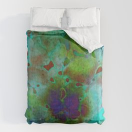 cool colors Comforters