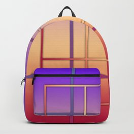 Geometric patchwork Backpack