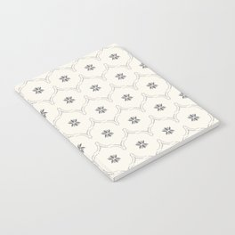 WILDFLOWER JASMIN GREY Notebook