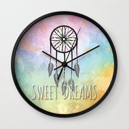 Sweet Dreams Dreamcatcher Wall Clock