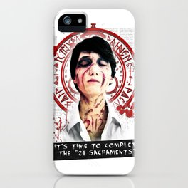 """Silent Hill - It's time to complete the """"21 Sacraments"""" iPhone Case"""