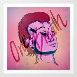 One Breath Art Print